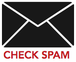Check spam graphic